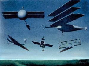 René Magritte - The Black Flag