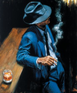 Fabian Perez - enjoying the pleasures of the night