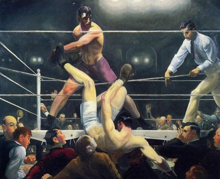 George Wesley Bellows - Dempsey and Firpo (1924)