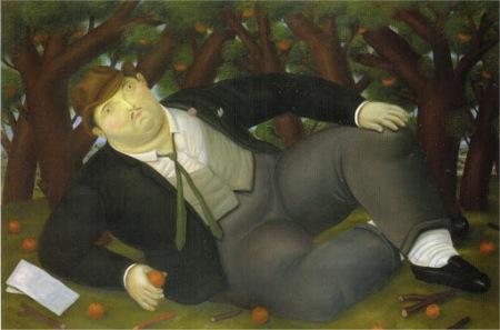 Botero - the poet