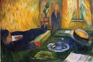 Munch - The Murderess (1906) la asesina