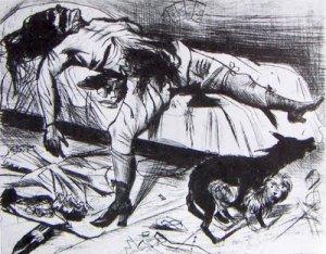 Otto Dix - asesinato por placer (1922) (01)