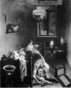 Otto Dix - asesinato por placer (1922)