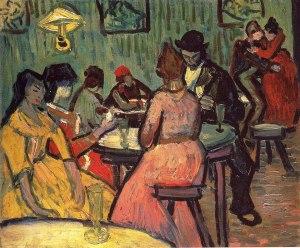 Van Gogh - el burdel (1887)