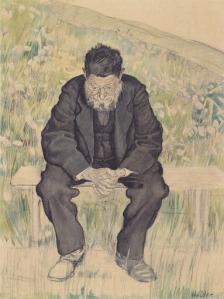 Hodler - Desempleado (1892)
