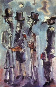 Max Weber - Adoration of the Moon (1944)