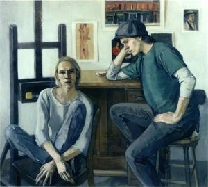 Paul Mary Beth McKenzie - art students (1995)