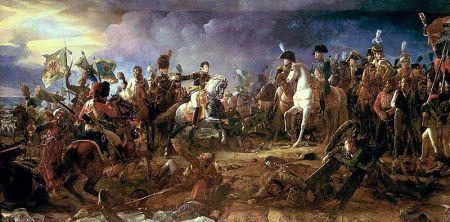 François Gerard - batalla de Austerlitz (1805)