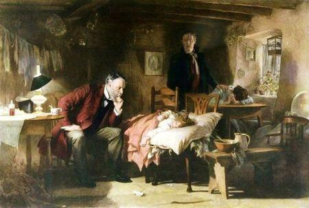 Luke Fildes - The Doctor (1891)