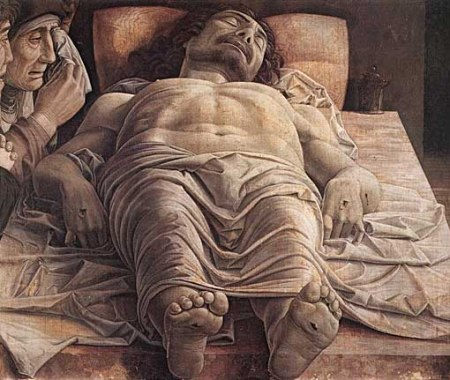 Mantega - lamentación sobre Cristo muerto (1500)