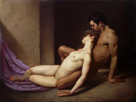 Roberto Ferri - El sepulcro de los amantes (2014)