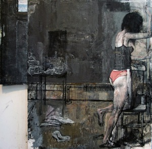Jim Peters - Her Studio, Black Wall