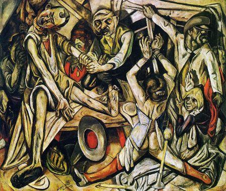 La noche (Max Beckmann, 1919)