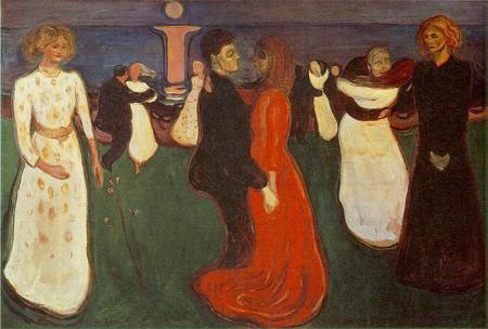 el baile de la vida (E. Munch, 1899)