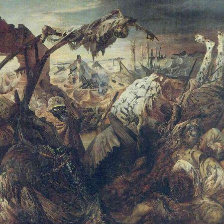Otto Dix - la guerra (1932) panel central