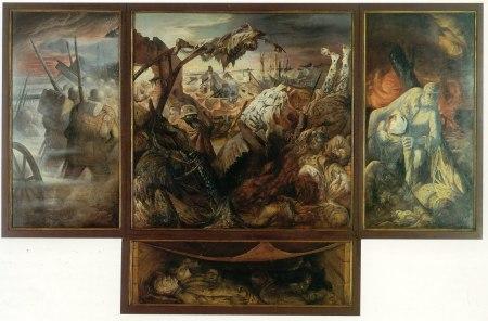 Otto Dix - la guerra (1932) tríptico