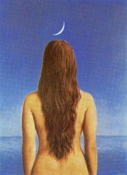 René Magritte - El vestido de noche