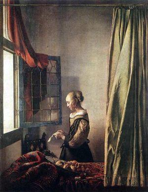 Vermeer - Muchacha leyendo una carta (1657)