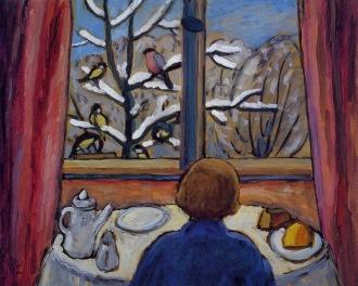 Gabriele Münter - Breakfast of the Birds (1934)