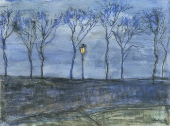 Georg Tappert - Camino, Noche ....