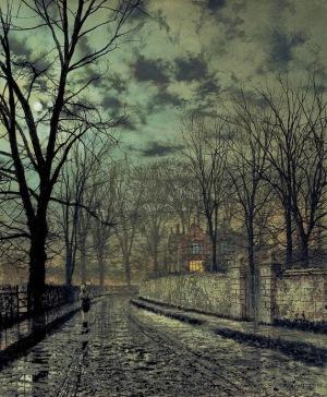 John Atkinson Grimshaw - November (1879)