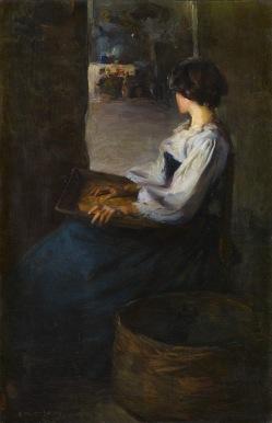 Enrique Martinez Cubells - Mujer bretona (1900)