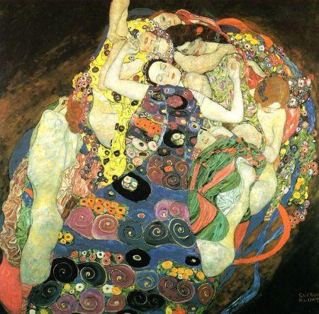 Klimt - las virgenes (1913)
