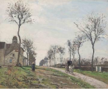 Pisarro - el camino de marly (1870)