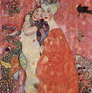 Klimt -  las amigas (1916)