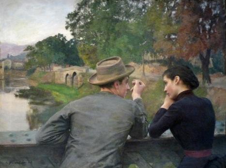 Friant - Los amantes (1888)