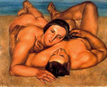 jose de togores i llach - Desnudos en la playa (1922)