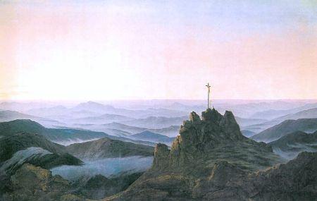 Friedrich - Morgen im Riesengebirge (1811)