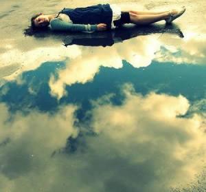 nubes con adolescente