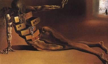 Dali - Venus de Milo con cajones (1936) El escritorio antropomórfico