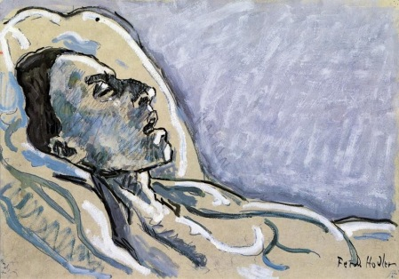 Hodler - The Dying Valentine Gode Darel (1915)