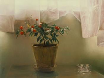Morteza Katouzian - red pepper post (1999)
