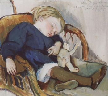 Zinaida Serebriakova - El sueño de Binka