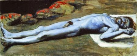 Akseli Gallen-Kallela - The Slain Lemminkäinen (1896)