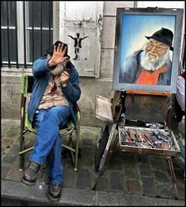 artista que se niega a ser reconocido