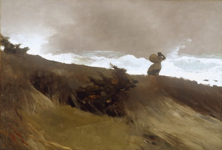 Winslow Homer - The West Wind (1891)