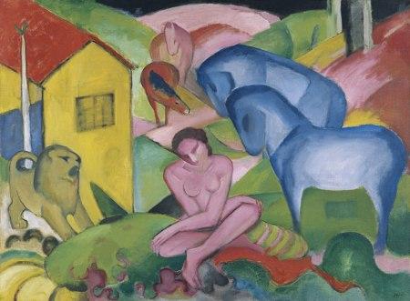 Franz Marc - el sueño (1912)