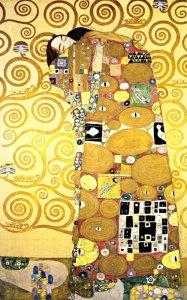 Klimt - el árbol de la vida (1909) detalle 01