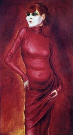 Otto Dix - la bailarina Anita Berber (1925)