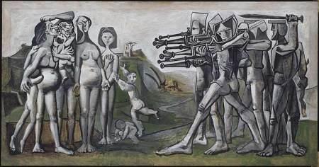 Picasso - Masacre en Corea (1951)