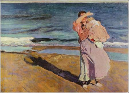 Sorolla - pescadora con su hijo (1908)
