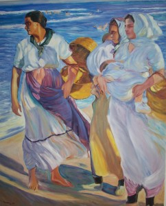 Sorolla - pescadoras valencianas (1915)