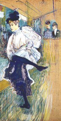Toulouse-Lautrec - Jane Avri bailando (1892)