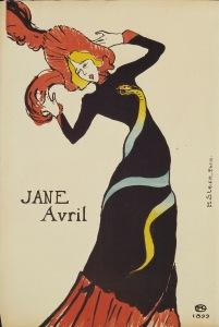 Toulouse-Lautrec - Jane Avri bailando (1899)
