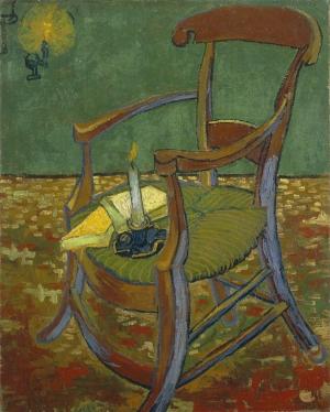 Van Gogh - la silla de Paul Gauguin (1888)