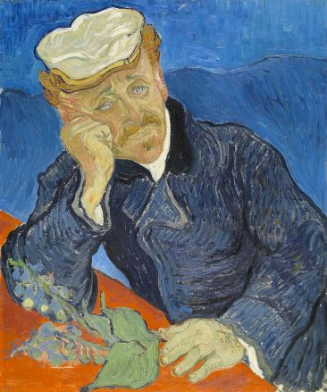 Van Gogh - retrato del doctor Gachet (1890) (02)